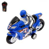 Мотоцикл радиоуправляемый «Спортбайк», цвета МИКС