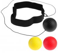 Эспандер «Боевой мяч», для боксёра, теннисиста, набор 3 мяча