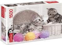 Пазл 1500 элементов «Котята и клубочки»