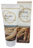 Пенка для умывания с экстрактом риса 3W Clinic Lovely Cereаl Foam Cleansing