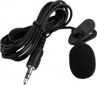 Петличный микрофон WY-001 на прищепке Black