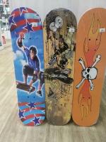Скейтборд деревянный 78х20 см