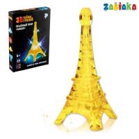 Пазл 3D кристаллический, «Башня», 24 детали, световой эффект, МИКС