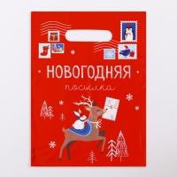 Пакет «Почта», полиэтиленовый с вырубной ручкой, 17 х 20 см