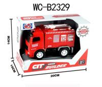 Пожарная машина 999-45Е3 (инерция,свет,звук)