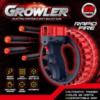 Бластер  GRОWLER electric portable soft bullet gun automatic