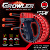 Бластер  GRОWLER electric portable soft bullet gun automatic