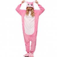 Кигуруми Розовый зайка 120 см