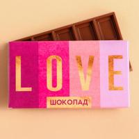 Шоколад молочный «Love»: 27 г.