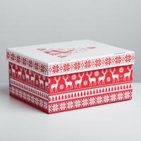 Складная коробка «Скандинавия», 30 × 24.5 × 15 см