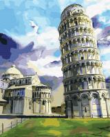 Картина по номерам 40*50  Пизанский собор 23834