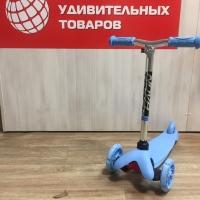 Самокат-Кикборд детский свет.колеса