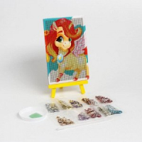 Алмазная мозайка  детская в ассортименте 10*15 см