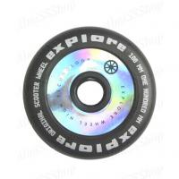 Колеса д/трюкового самоката, светоотражающее покрытие Колеса 100мм FLAT + подшипник